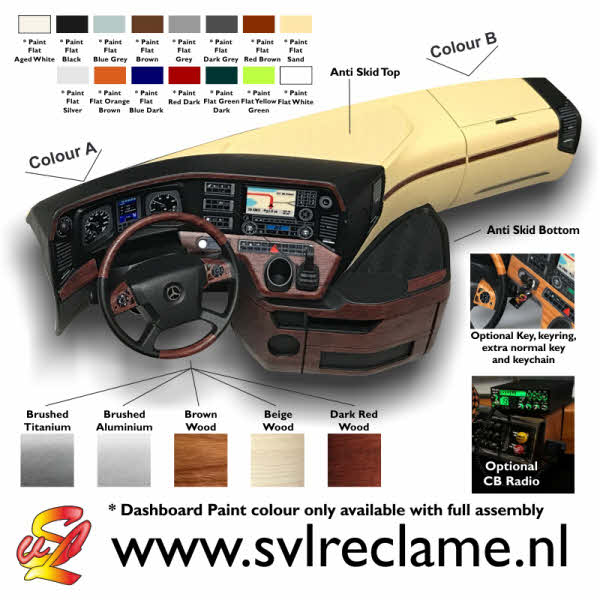 mercedes actros dashboard tamiya hyper realistic real 56348 56335 interior interieur www_svlreclame_nl