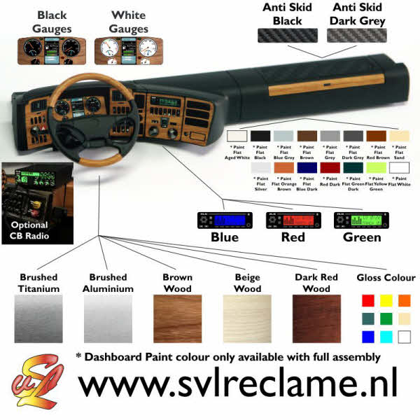 realistic realistisch dashboard dash for tamiya scania 56323 wood gauge dials brushed titanium aluminium www_svlreclame_nl 03