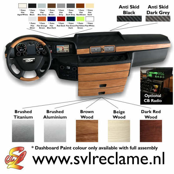 tamiya man xlx realistic dashboard with lighting wood or brushed www_svlreclame_nl 02