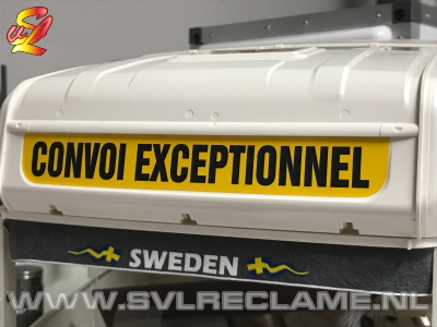 tamiya scania dak roof dach convoi exceptionell sticker decal www_svlreclame_nl